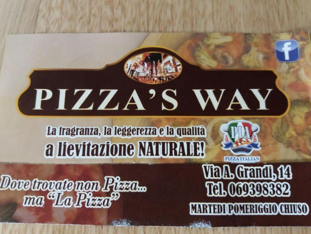 PIZZA'S WAY