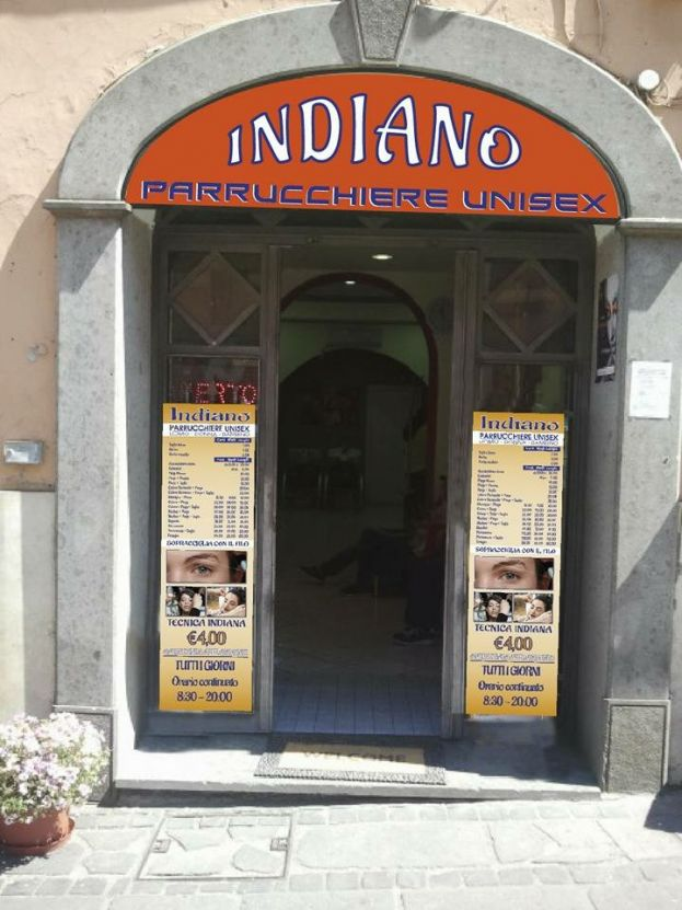 Indiano Parrucchiere Unisex